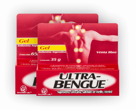 Ultra Bengue: Dale alivio a dolores musculares