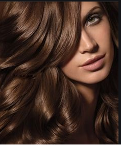 Cabello color chocolate